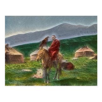 Carte Postale Homme kazakh