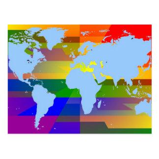Carte Postale Homosexuel je suis la terre