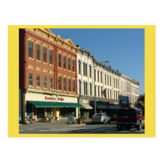 Carte Postale HONESDALE du centre, Pennsylvanie