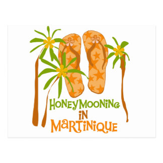 Carte Postale Honeymooning Martinique