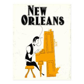 Carte Postale Honky Tonk de la Nouvelle-Orléans
