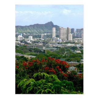 Carte Postale Honolulu, Hawaï
