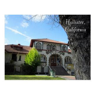 Carte Postale Hôpital noisette original de Hawkins, Hollister,