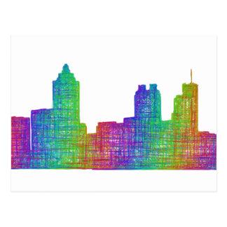 Carte Postale Horizon d'Atlanta