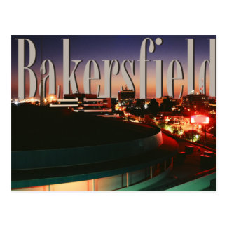 Carte Postale Horizon de Bakersfield avec Bakersfield dans le