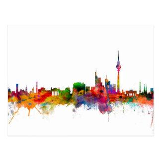 Carte Postale Horizon de Berlin Allemagne