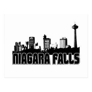 Carte Postale Horizon de chutes du Niagara