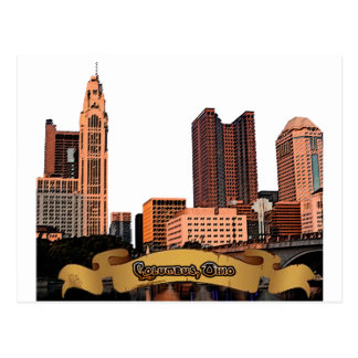 Carte Postale Horizon de Columbus Ohio