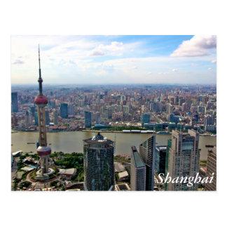 Carte Postale Horizon de la Chine, Changhaï par jour