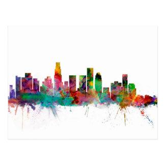 Carte Postale Horizon de Los Angeles la Californie