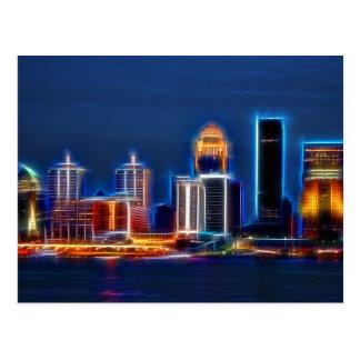 Carte Postale Horizon de Louisville KY