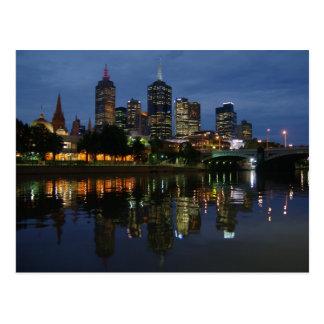 Carte Postale Horizon de Melbourne