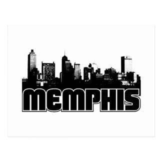 Carte Postale Horizon de Memphis