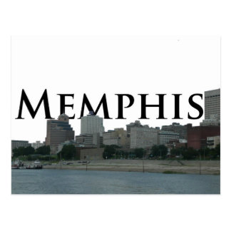 Carte Postale Horizon de Memphis TN avec Memphis le ciel