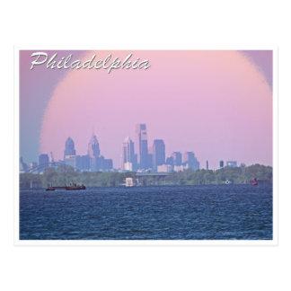 Carte Postale Horizon de Philadelphie du comté de Bucks