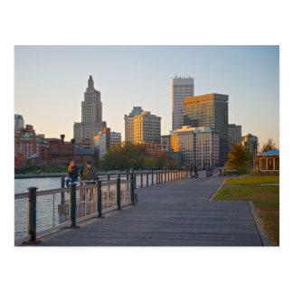 Carte Postale Horizon de Providence, Île de Rhode