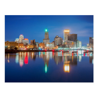 Carte Postale Horizon de Providence, RI
