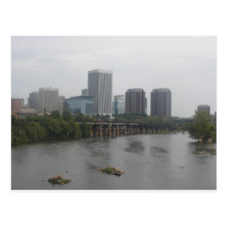 Carte Postale Horizon de Richmond la Virginie
