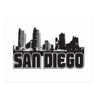 Carte Postale Horizon de San Diego