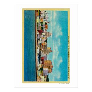 Carte Postale Horizon de San Diego du BaySan Diego, CA