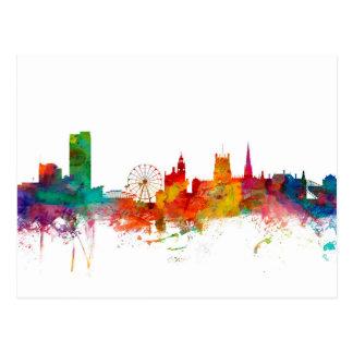 Carte Postale Horizon de Sheffield Angleterre