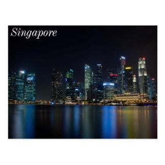 Carte Postale Horizon de Singapour chez Fullerton