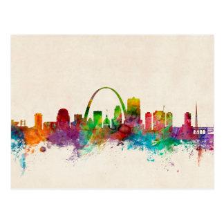 Carte Postale Horizon de St Louis Missouri