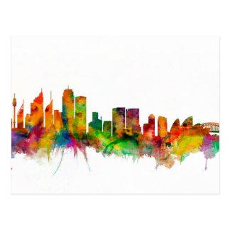Carte Postale Horizon de Sydney Australie