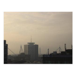 Carte Postale Horizon de ville de Cardiff