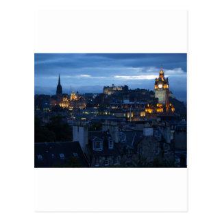 Carte Postale Horizon d'Edimbourg
