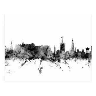 Carte Postale Horizon d'Edimbourg Ecosse