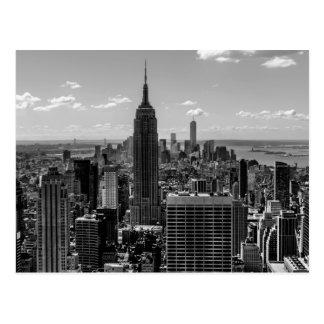 Carte Postale Horizon d'Empire State Building de New York City