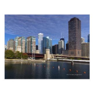 Carte Postale Horizon des Etats-Unis, l'Illinois, Chicago à
