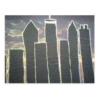 Carte Postale Horizon du centre d'Atlanta