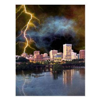 Carte Postale Horizon orageux de Richmond