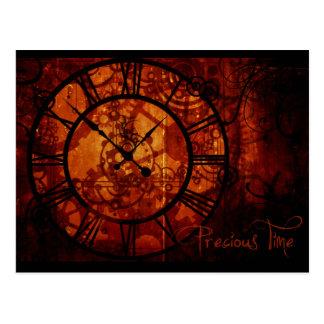Carte Postale Horloge de Steampunk