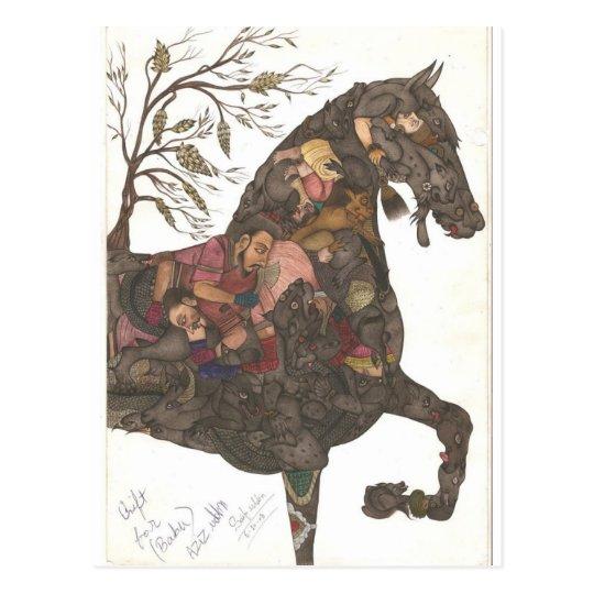 Carte Postale Horse