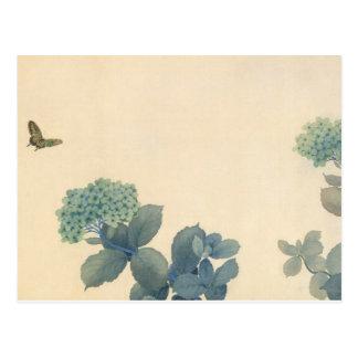 Carte Postale Hortensias par Shunso