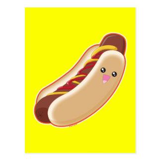 Carte Postale Hot-dog !