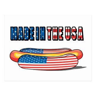 Carte Postale Hot-dog des Etats-Unis