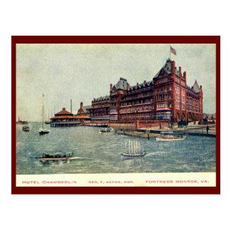 Carte Postale Hôtel Chamberlain, forteresse Monroe, la Virginie