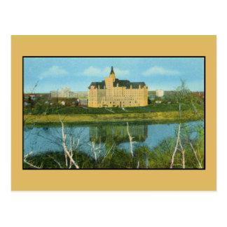 Carte Postale Hôtel de Bessborough, Saskatoon, Saskatchewan