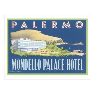 Carte Postale Hôtel de palais de Palerme Mondello