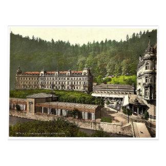 Carte Postale Hôtel grand Pupp, Carlsbad, Bohême, Austro-Hungar