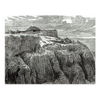 Carte Postale House Magdala du Roi Theodore