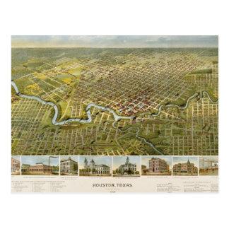 Carte Postale Houston 1891