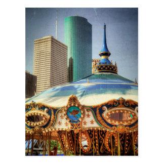Carte Postale Houston domine et le champ de foire monte