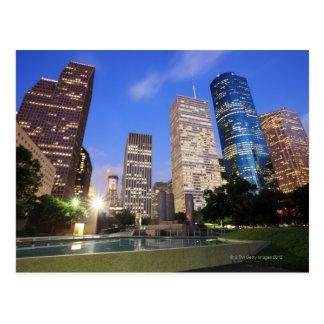 Carte Postale Houston du centre, le Texas