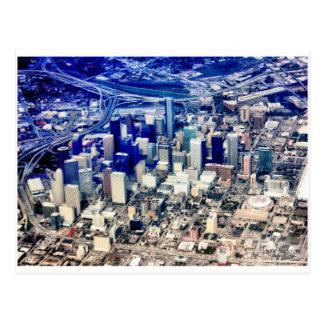 Carte Postale Houston du centre panoramique