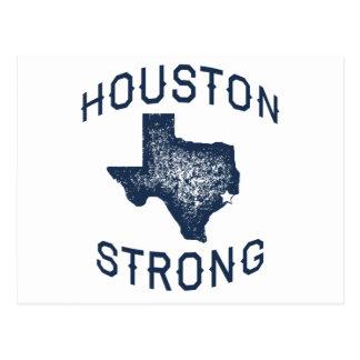 Carte Postale Houston fort - soulagement d'inondation de Harvey